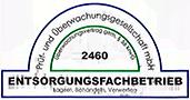 Zertifikat Entsorgungsfachbetrieb